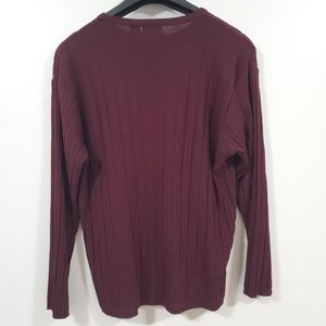 Claiborne Sweaters - CLAIBORNE Boat Neck Ribbed Sweater
